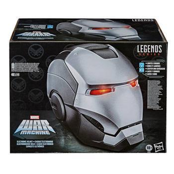 商品Hasbro Marvel Legends Avengers War Machine Role Play Helmet图片