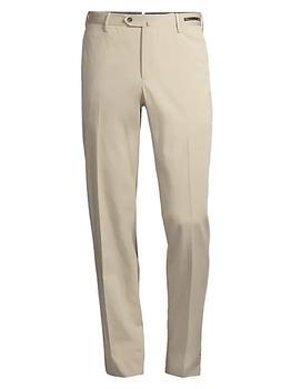 商品Slim-Fit Silk-Blend SilkOchino Trousers图片