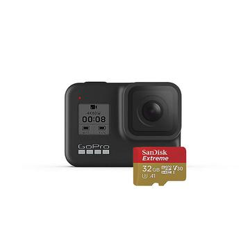商品GoPro HERO8 Black Camera with 32GB SD Card图片
