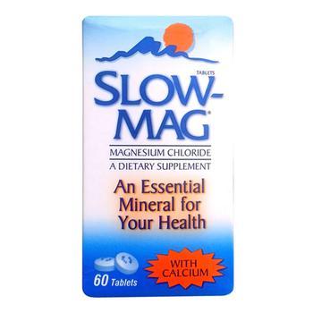 商品Slow-Mag Magnesium Chloride With Calcium Tablets - 60 Ea图片