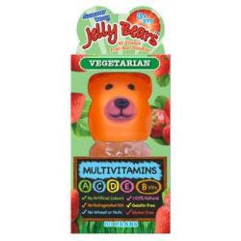 商品Jelly Bears MultiVit Berries 60gummies图片