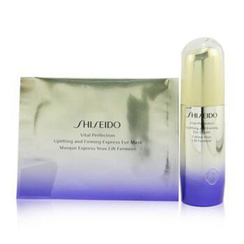 商品Shiseido - Vital Perfection Uplifting & Firming Eye Set: Eye Cream 15ml + Eye Mask 12pairs 2pcs图片