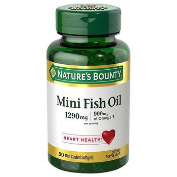 商品Fish Oil Dietary Supplement Mini Softgels图片