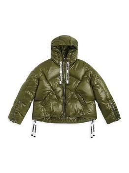 商品Little Kid's & Kid's Shiny Puffer Jacket图片
