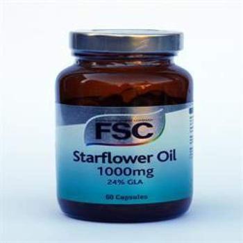商品FSC Starflower Oil 1000mg 60 capsule图片