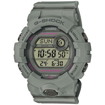 商品Women's Digital Connected Trainer Gray Resin Strap Watch 45.2mm图片