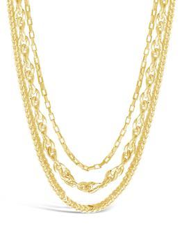 商品Three Layer Bold Chain Necklace图片