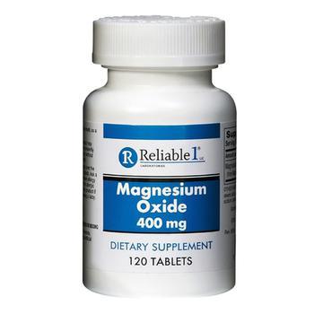 商品Reliable 1 Magnesium Oxide 400 mg Tablets, 120 Ea图片