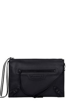 商品Balenciaga Clutch In Black Leather图片
