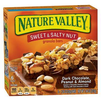 商品Sweet N Salty Bars Peanut & Almond图片