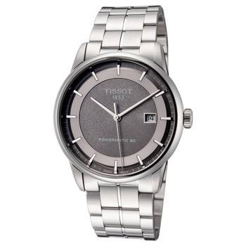 商品天梭 Luxury系列 男士 机械手表 41mm 男表 T0864071106100图片