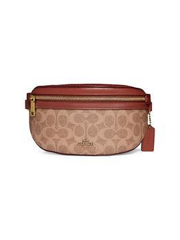 商品Signature Coated Canvas & Leather Belt Bag图片