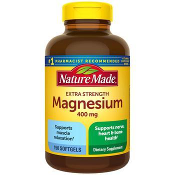 商品Nature Made Magnesium, 400mg (150 ct.)图片