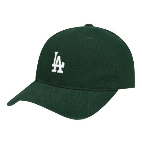商品【韩国直邮|包邮包税】MLB LA复古小Logo棒球帽 绿色图片