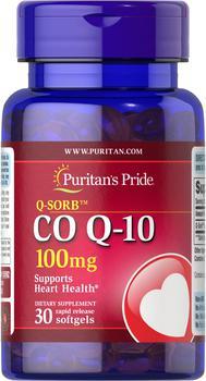 商品辅酶Q10胶囊 心脏保健 100mg 30粒/瓶图片