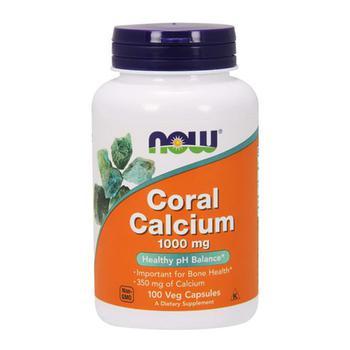 商品Now Foods Coral Calcium 1,000 mg Veg Capsules, 100 Ea图片