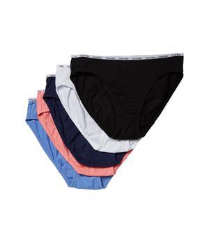 商品5-Pack Signature Cotton Bikini Bottoms图片