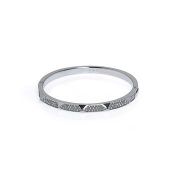 商品Swarovski Tactic Rhodium And Crystal Bracelet 5511390图片