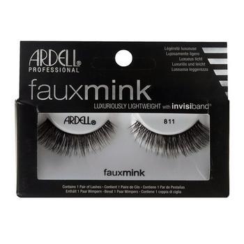 商品Ardell Faux Mink # 811 Black Lashes Pair, 1 Ea图片
