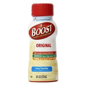 商品Boost Nutritional Energy Drink, Vanilla Flavor  - 8 Oz / Can, 24 Cans图片