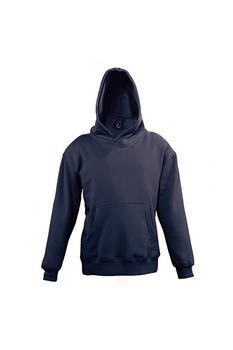 商品SOLS Childrens/Kids Slam Hooded Sweater (Navy)图片