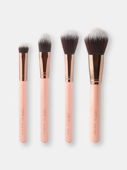 商品Luxie Face Complexion Brush Set Rose Gold图片
