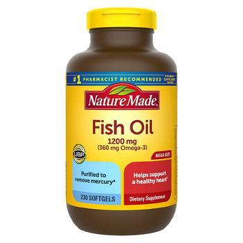 商品鱼油软胶囊1200mg 230粒图片