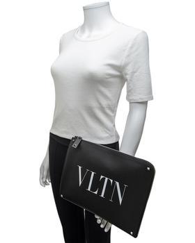 商品Valentino VTLN Leather Pouch图片