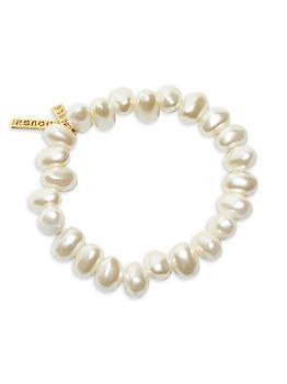 商品Jelly Bean Faux Pearl Bracelet图片