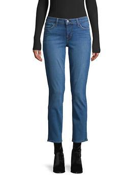 商品Mid-Rise Ankle Jeans图片