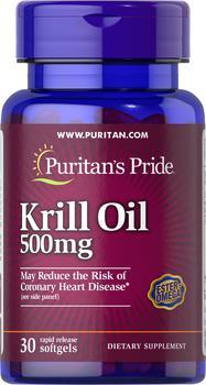 商品磷虾油500mg 86mg活性Omega-3 30粒/瓶图片