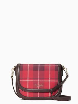 商品blake plaid saddle bag图片