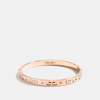 商品 COACH 玫瑰金属手环图片