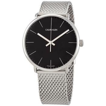 商品Calvin Klein High Noon Quartz Black Dial Mens Watch K8M21121图片