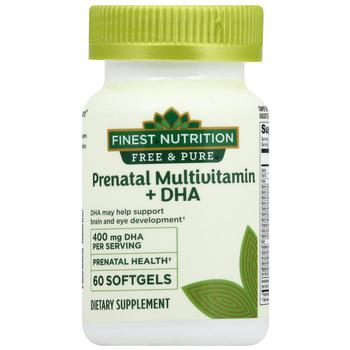 商品Free & Pure Prenatal Vitamin + DHA图片