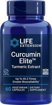 商品Life Extension Curcumin Elite™ Turmeric Extract (60 Capsules, Vegetarian)图片