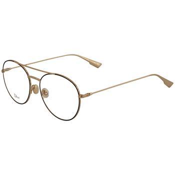 商品Dior Transparent Aviator Ladies Eyeglasses DIORSTELLAIREO5 02M2 54图片