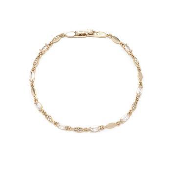 商品Rose Gold and Crystal Flex Bracelet图片