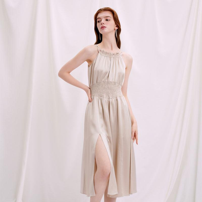 商品Jodie连衣裙-香槟色  | Jodie Dress - Champagne 图片