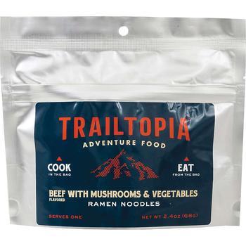 商品Trailtopia Ramen Noodles Beef flavored with Vegetables and Mushrooms图片