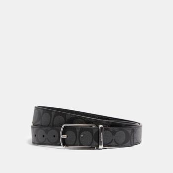 商品COACH Skinny Buckle Cut To Size Reversible Dress Belt, 32 Mm图片