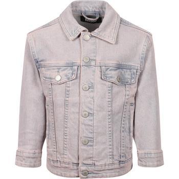 商品Denim jacket in stonewashed light blue图片
