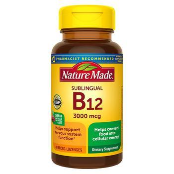 商品Sublingual Vitamin B12 3000 mcg Micro-Lozenges图片
