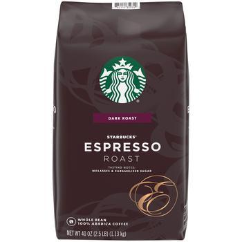 商品意式浓缩烘焙咖啡豆 (40 oz.)图片