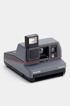 商品Polaroid Grey Impulse Vintage 600 Instant Camera Refurbished by Retrospekt图片