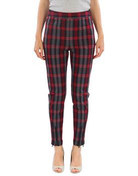 商品宽松格纹长裤图片