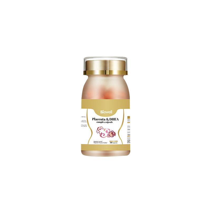 商品Biowell 羊胎素胶囊羊胎盘提取物精华保护女性卵巢子宫保养60粒/瓶图片