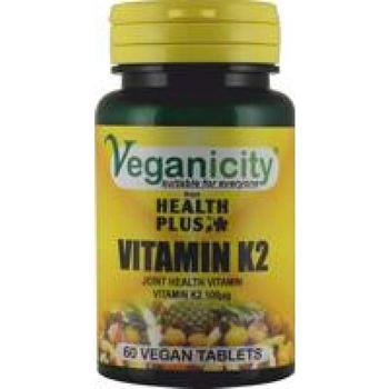 商品Veganicity Vitamin K2 100ug 60 tablet图片