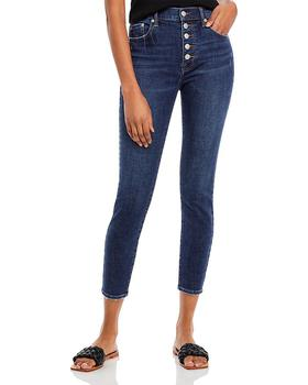 商品High Rise Button Fly Jeans图片