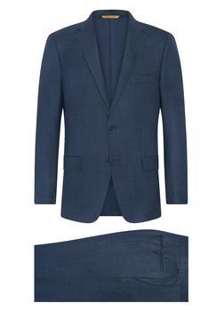 商品Arctic Blue Plaid Suit图片